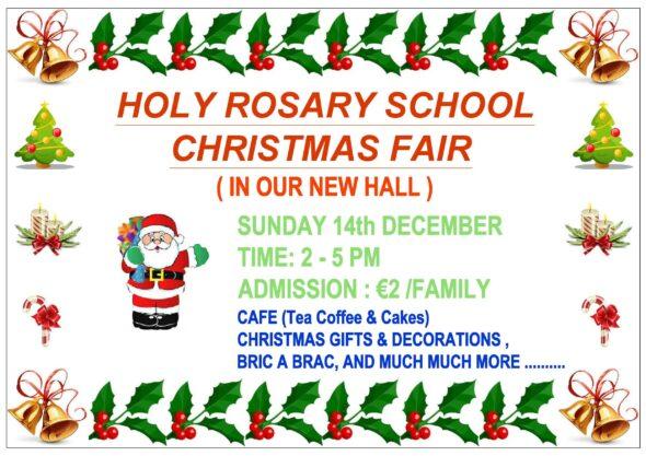 Holy Rosary Christmas Fair